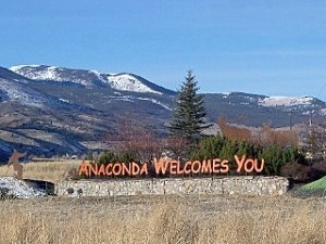 My home town of Anaconda, MT