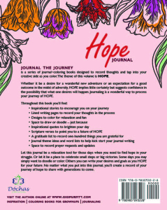 Hopejournal Back Cover