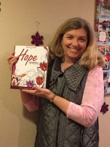 Gigi with HOPE Journal